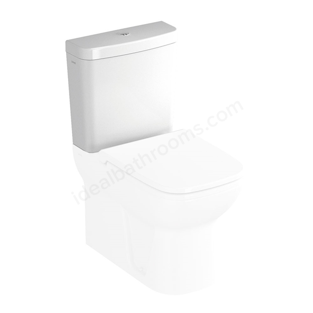 Vitra S20 Close Coupled Cistern; Dual Flush; 6/3 Litre; White