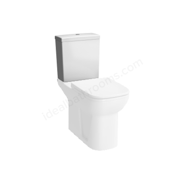 Vitra S20 Comfort Close Coupled Cistern; Dual Flush; 6/3 Litre; White