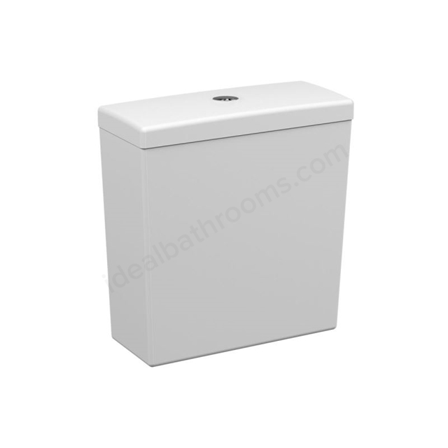 Vitra S50 Comfort Close Coupled Cistern; Dual Flush; 6/3 Litre; White