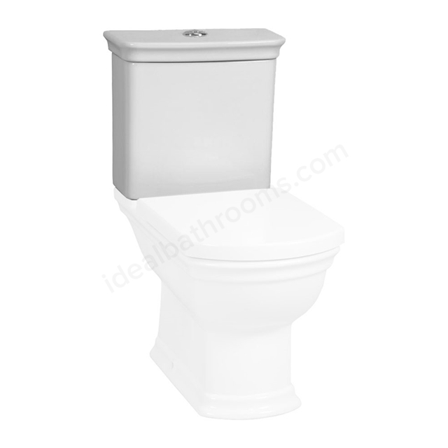 Vitra SERENADA Close Coupled Cistern; Dual Flush; 6/3 Litre; White