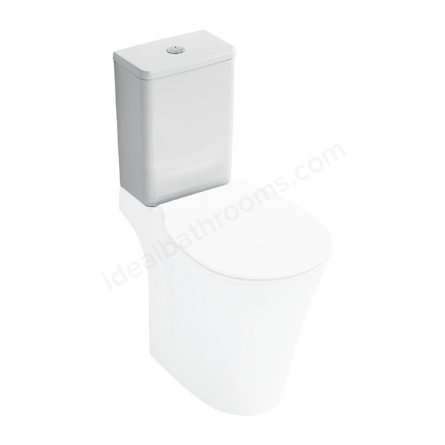 Ideal Standard CONCEPT AIR Close Coupled Cistern, Dual Flush 6/4 Litre, White