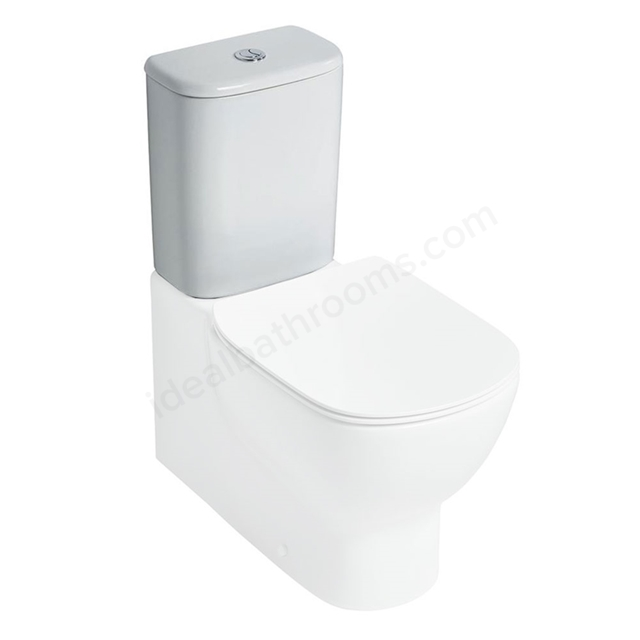 Ideal Standard TESI Close Coupled Cistern; Dual Flush 4/2.6 Litre; White