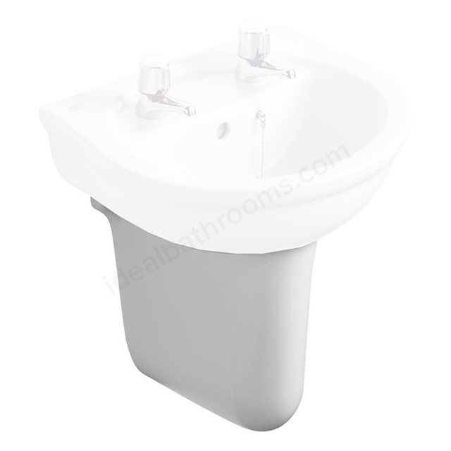 Ideal Standard ALTO Small Semi Pedestal; White