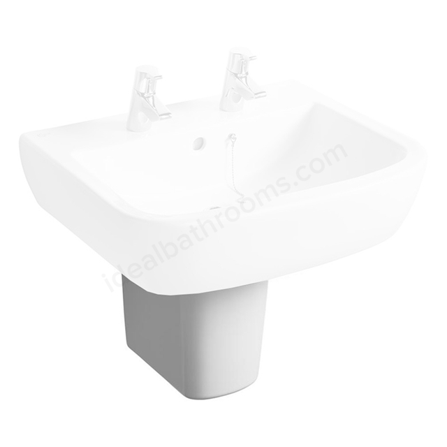 Ideal Standard TEMPO Semi Pedestal; White