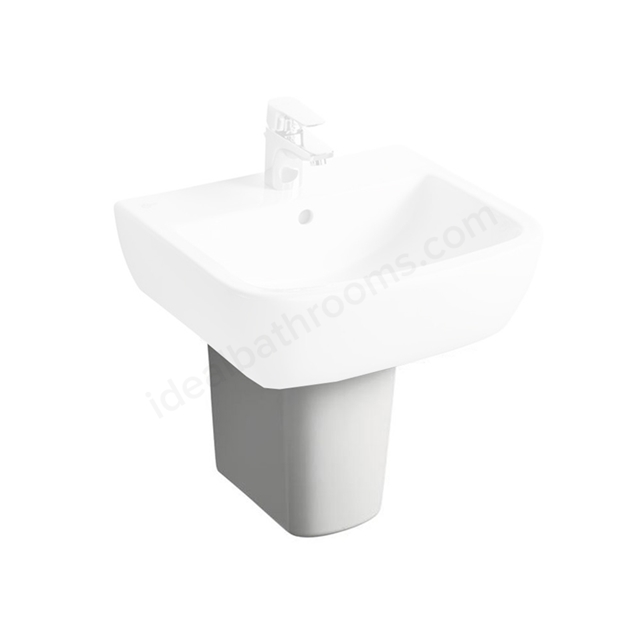 Ideal Standard TEMPO Small Semi Pedestal; White