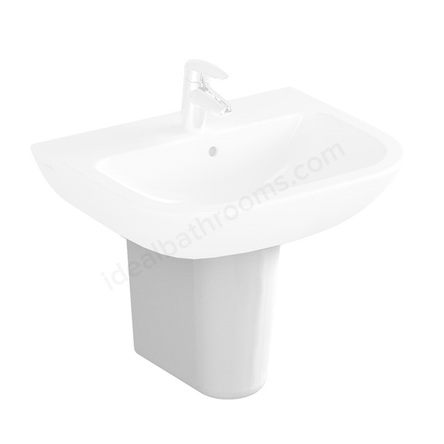 Vitra S20 Semi Pedestal; Large; White