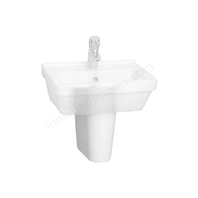 Vitra S50 Semi Pedestal; Small; White