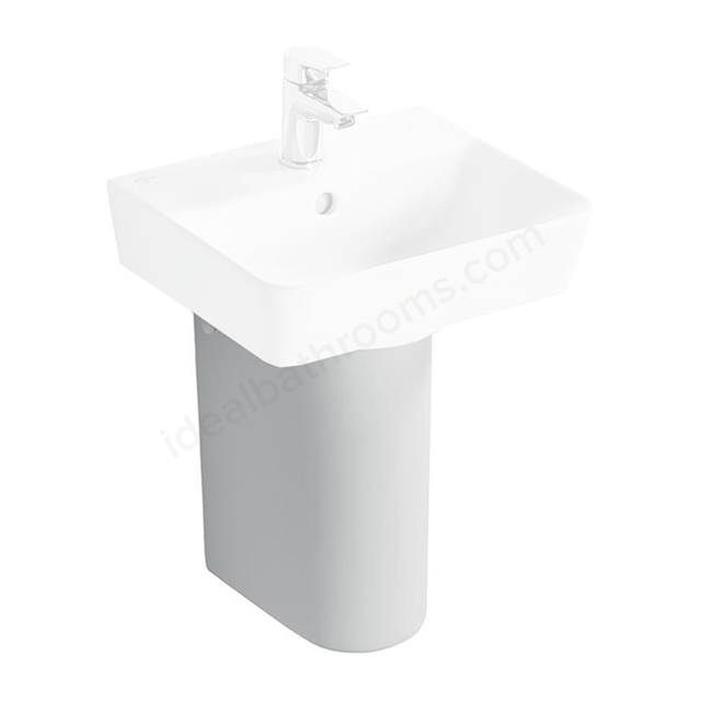 Ideal Standard CONCEPT AIR Small Semi Pedestal; White