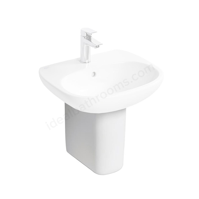 Ideal Standard TESI Semi Pedestal; White