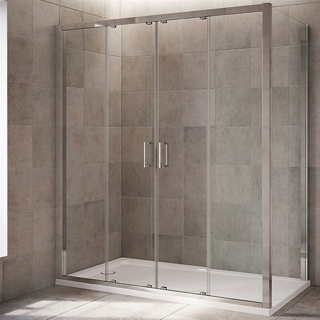 Mira Leap Quadrant Shower Enclosure Panels No Door 6mm