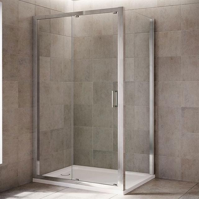 Mira Leap Double Sliding Shower Door Panels No Doors