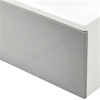 Essential KINGSTON Front Straight Bath Panel, 1700mm Wide, White
