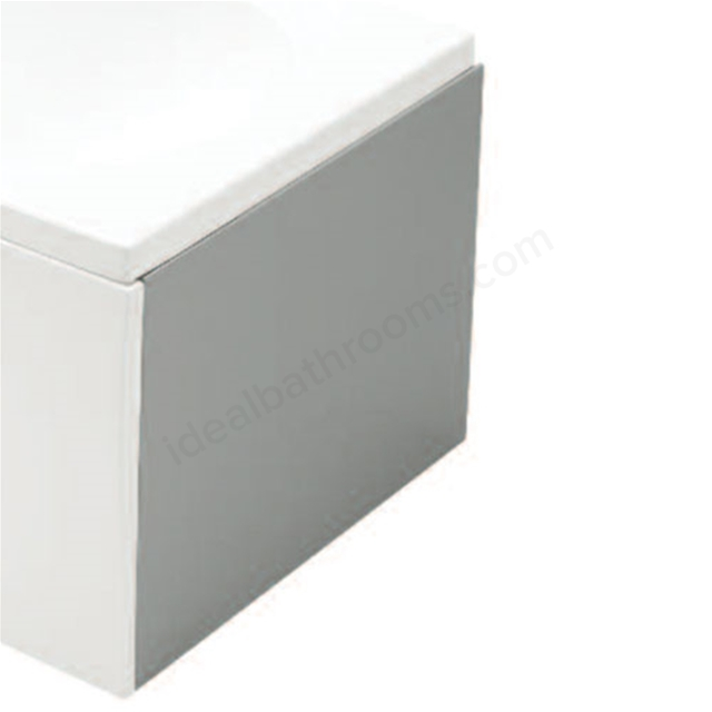 Essential KINGSTON End Straight Bath Panel; 700mm Wide; White