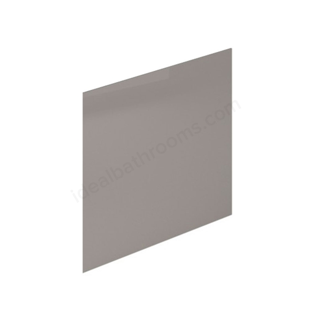 Essential NEVADA MDF End Bath Panel; 800mm Wide; Cashmere