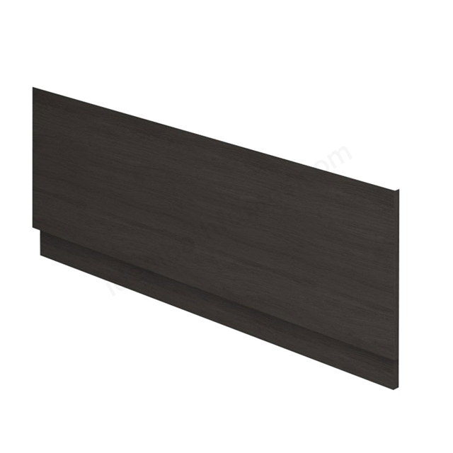 Essential VERMONT MDF Front Bath Panel; 1800mm Wide; Dark Grey