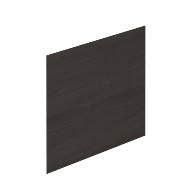 Essential VERMONT MDF Showerbath End Bath Panel; 700mm Wide; Dark Grey