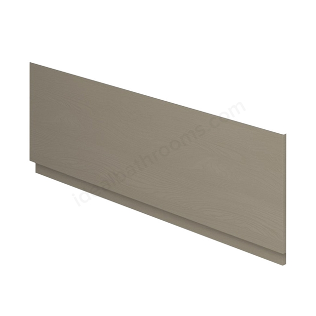 Essential VERMONT MDF Front Bath Panel; 1800mm Wide; Light Grey
