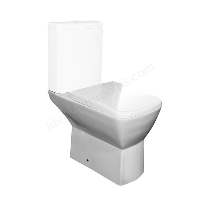 Essential Jasmine Full Pedestal Only White Ideal Bathrooms