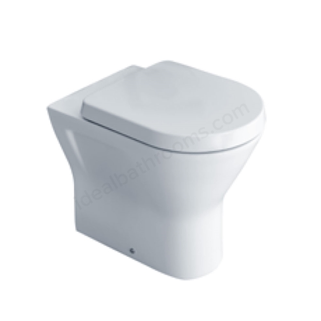 Essential IVY Comfort Back to Wall Pan - White