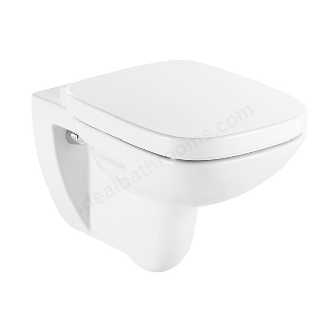 Roca Debba Back To Wall Toilet Pan Only White Ideal