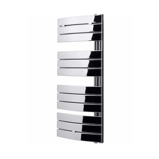 Essential ARIES Towel Warmer; Flat Panels; 780mm High x 550mm Wide; Chrome