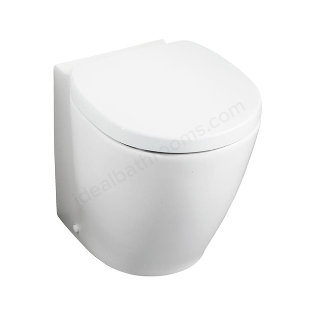 Ideal Standard CONCEPT SPACE Compact Back to Wall Toilet Pan