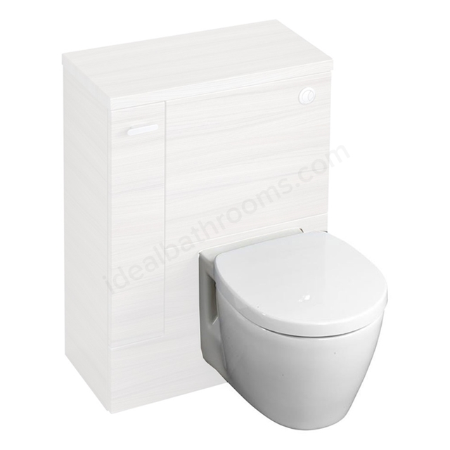 Ideal Standard CONCEPT SPACE Compact Wall Hung Toilet Pan; White