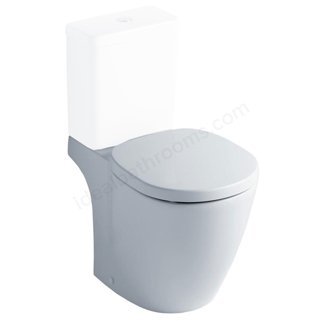 Ideal Standard CONCEPT Standard Close Coupled Toilet Pan, Horizontal Outlet, White
