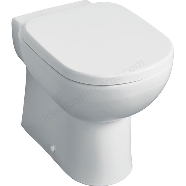 Ideal Standard TEMPO Back to Wall Toilet Pan; Horizontal Outlet