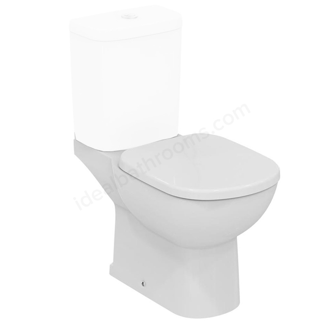 Ideal Standard TEMPO Close Coupled Toilet Pan; Vertical Outlet