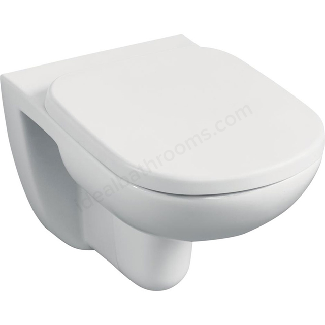 Ideal Standard TEMPO Wall Hung Toilet Pan; Horizontal Outlet