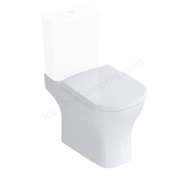 Ideal Standard SOFTMOOD Close Coupled Toilet Pan, Horizontal Outlet, White