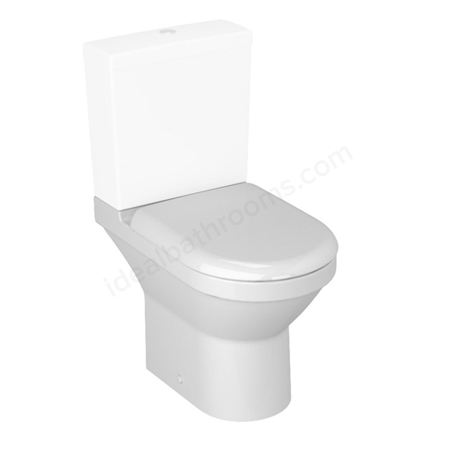 Vitra S50 Compact Close Coupled Toilet Pan; White
