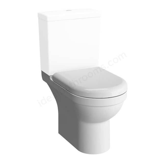 Vitra S50 Rimless Close Coupled Toilet Pan; White