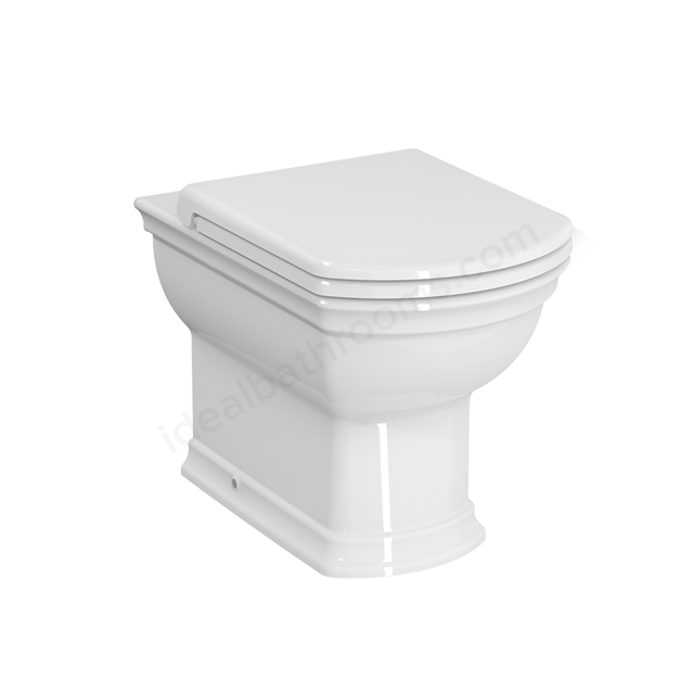 Vitra SERENADA Back to Wall Toilet Pan; White