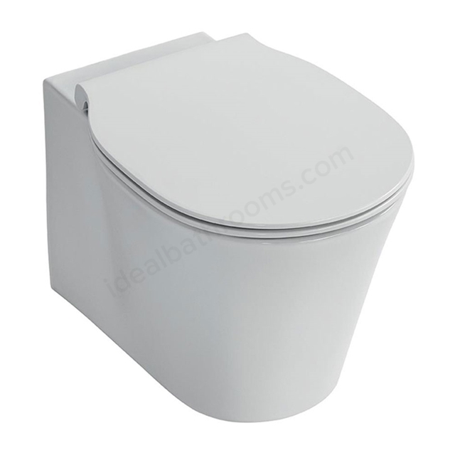 Ideal Standard CONCEPT AIR Wall Hung Toilet Pan; with Aquablade; Horizontal Outlet