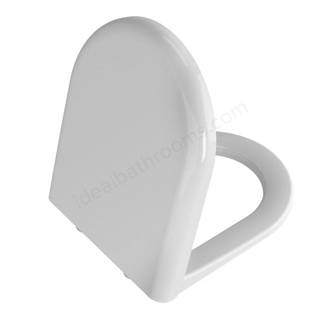 Vitra ZENTRUM Toilet Seat and Cover; Soft Close; White