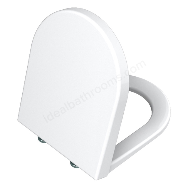 Vitra S50 Toilet Seat and Cover; White