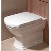 Vitra SERENADA Toilet Seat and Cover; Soft Close; White
