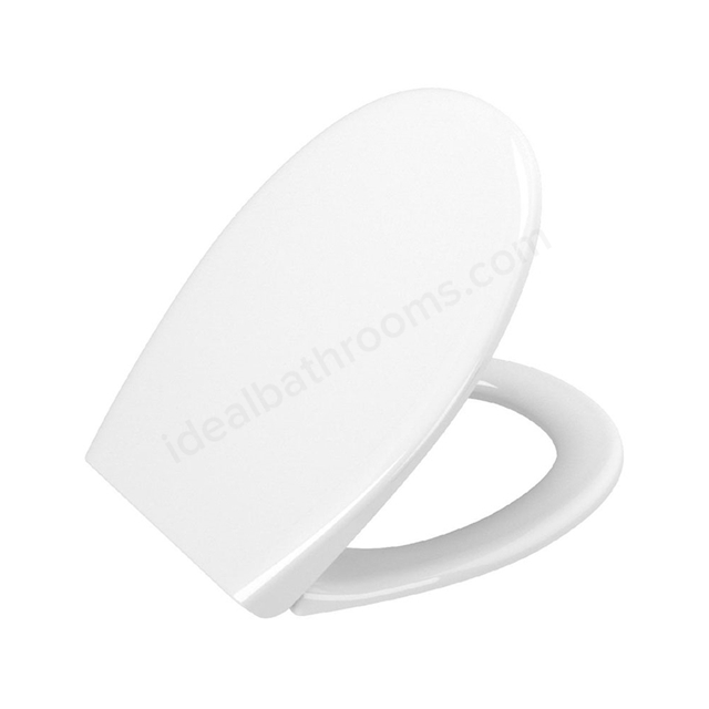 Vitra LAYTON Toilet Seat and Cover; Soft Close; White
