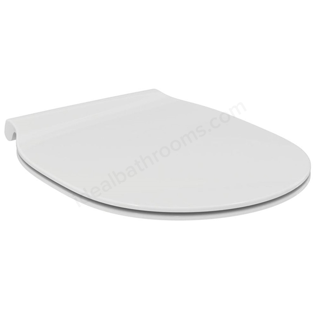 Ideal Standard CONCEPT AIR Slim Sandwich Soft Close Toilet Seat and Cover; White