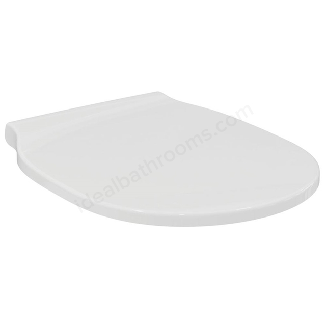 Ideal Standard CONCEPT AIR Slim Wrap Soft Close Toilet Seat and Cover; White