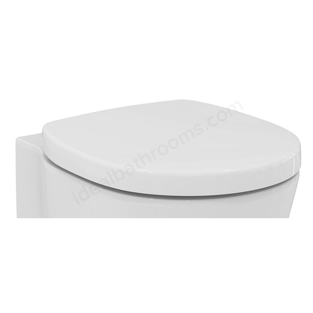 Ideal Standard CONCEPT SPACE Soft Close Toilet Seat and Cover; White