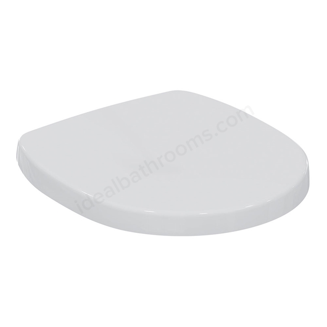 Ideal Standard CONCEPT SPACE Standard Toilet Seat and Cover; White