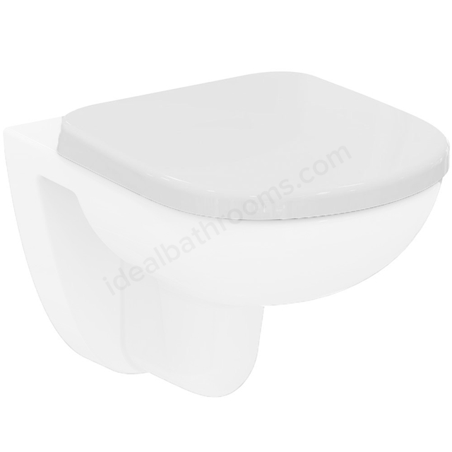 Ideal Standard TEMPO Standard Toilet Seat and Cover (Short); White
