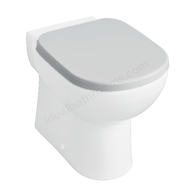 Ideal Standard TEMPO Standard Toilet Seat and Cover; White