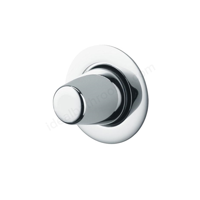 Armitage Shanks UNIVERSAL Palm Push Button Flush Mechanism for 150mm wall - Low Level; Chrome