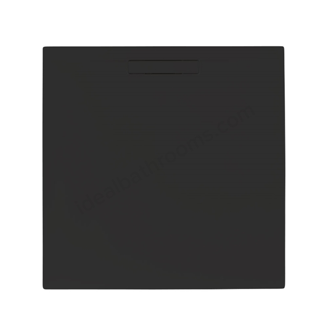 Just Trays EVOLVED Square Shower Tray; 800x800mm; Astro Black