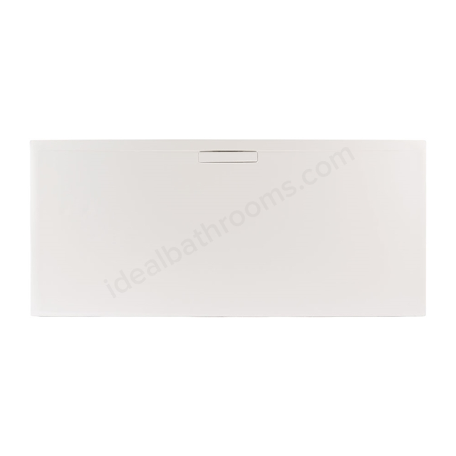 Just Trays EVOLVED Rectangular Shower Tray; 1000x760mm; Matt White