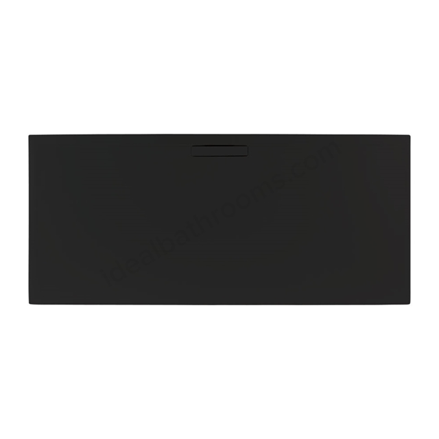 Just Trays EVOLVED Rectangular Shower Tray; 1400x800mm; Astro Black